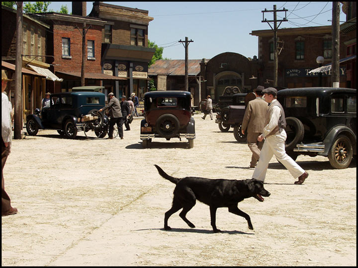 """Sounder""   Southern Town Backlot"