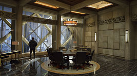 """The Strain"" Palmer's Conference Room"