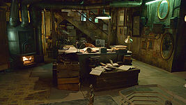 """The Strain"" Pawn Shop Basement"