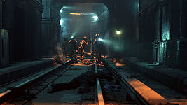 """The Strain"" Subway Tunnel Set"