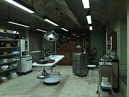 """The Strain"" Dreverhaven's Medical Room, 1960's"