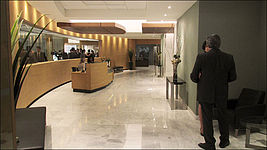 """Suits""  Reception Lobby"