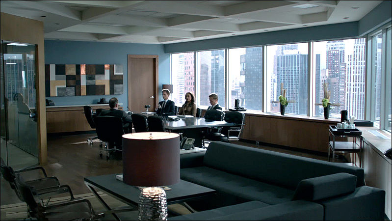 """Suits""  Executive Conference Room"